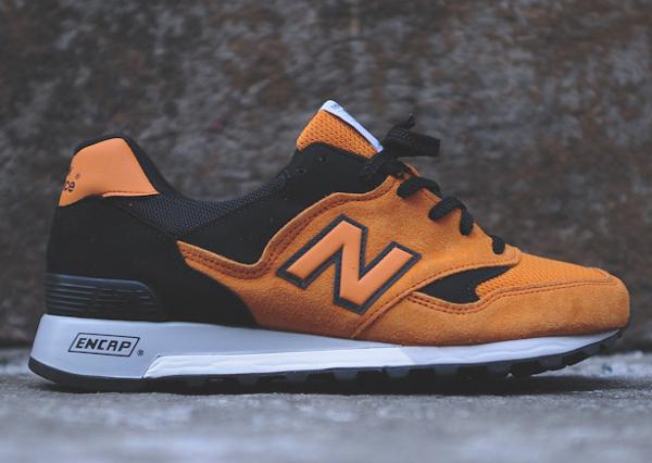 New Balance 577 Made In Uk Black Orange (2)