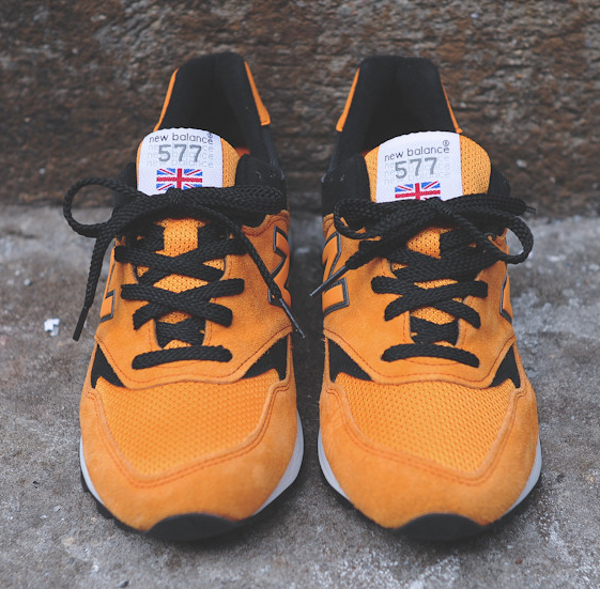 New Balance 577 Made In Uk Black Orange (3)
