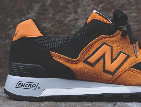 New Balance 577 Made In Uk Black Orange (5)