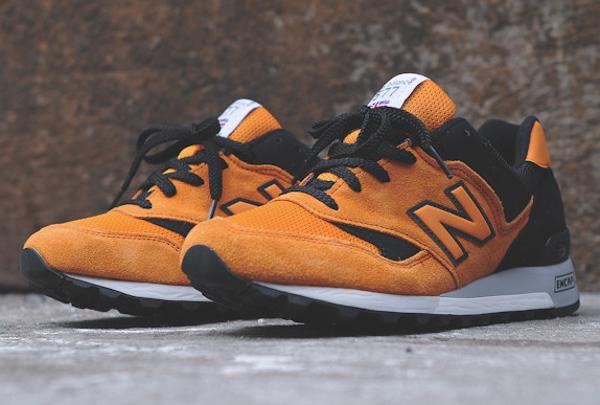 New Balance 577 Made In Uk Black Orange (7)