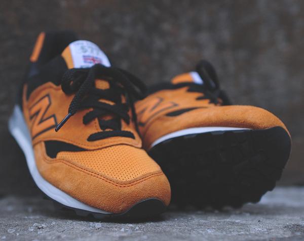 New Balance 577 Made In Uk Black Orange (8)