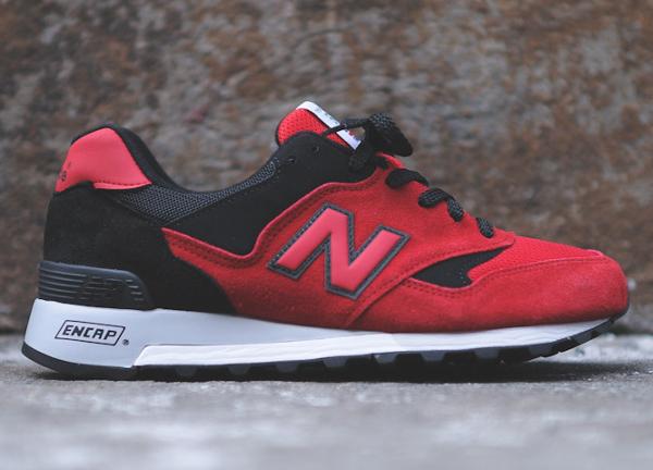 New Balance 577 RRK Black Red  (5)