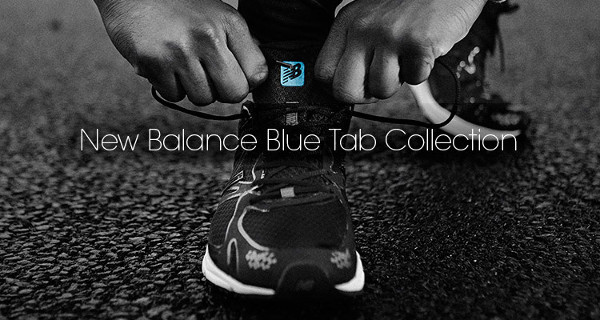 New Balance Blue Tab