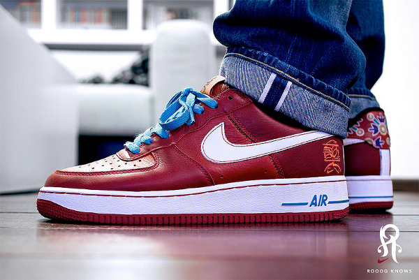 Nike Air Force 1 Low year Of The Dog - Rooogs Knows