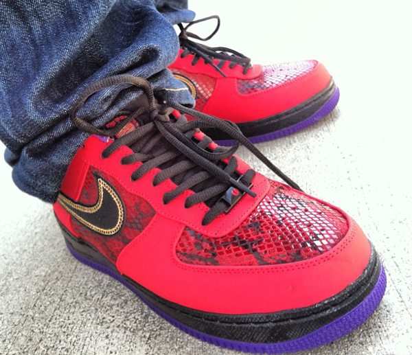 Nike Air Force 1 Low year Of The Snake  -Stacksjohnson
