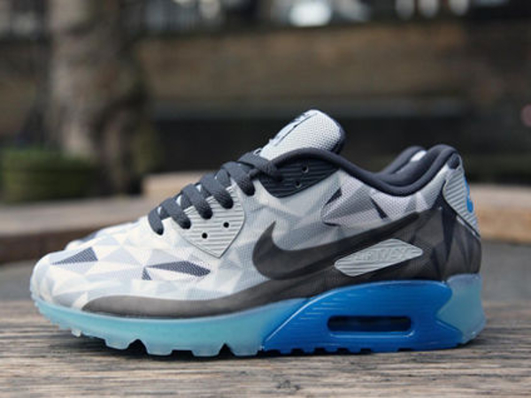 Nike Air Max 90 Ice Wolf Grey White-Anthracite (2)