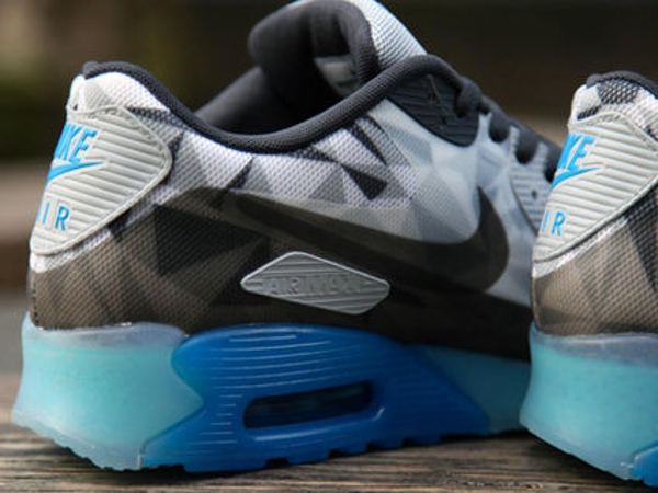 Nike Air Max 90 Ice Wolf Grey White-Anthracite (3)