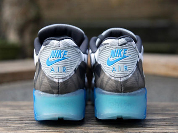 Nike Air Max 90 Ice Wolf Grey White-Anthracite (4)