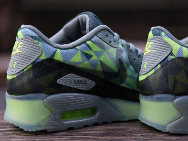 Nike Air Max 90 Volt Mica Green-Dark Green-Black (4)