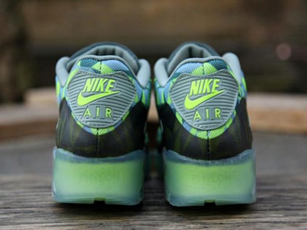 Nike Air Max 90 Volt Mica Green-Dark Green-Black (5)
