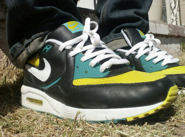 Nike Air Max Light Black Yellow White Green - 45sosa45