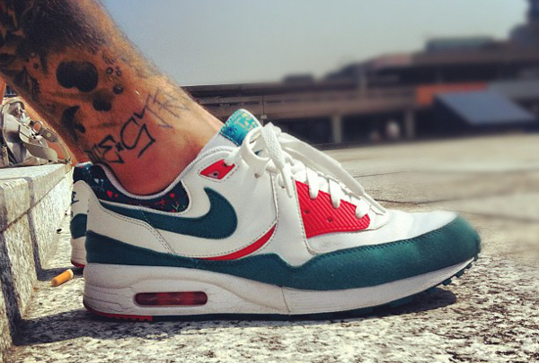 reputable site cc3e9 430bf Nike Air Max Light JD Sports Exclusive White Sport Red Neutral Grey -  Invinciblexsummer