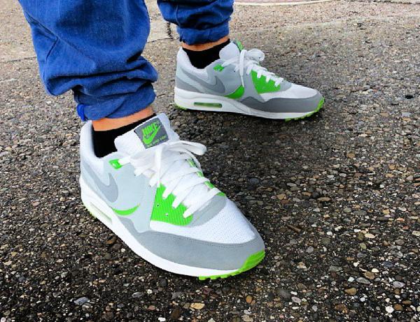 Nike Air Max Light White Flint Grey – Green - Maxwellmaxen