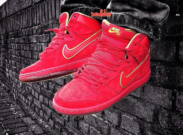 Nike Dunk High SB Year Of The Horse - Xaoduber