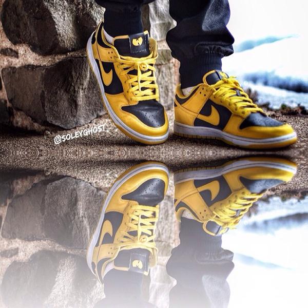 Nike Dunk Low Goldenrod - Wu Tang-1