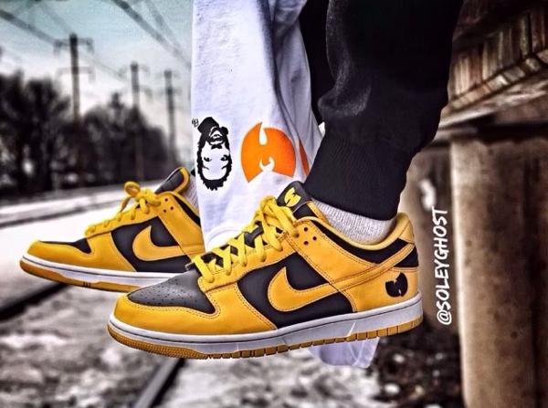 Nike Dunk Low Goldenrod - Wu Tang-3