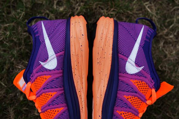 Nike Flyknit Lunar 2 Orange Purple (1)