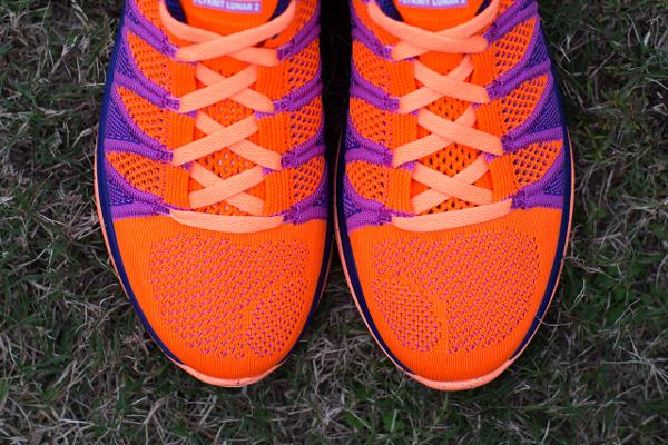 Nike Flyknit Lunar 2 Orange Purple (3)
