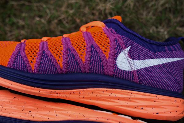 Nike Flyknit Lunar 2 Orange Purple (6)