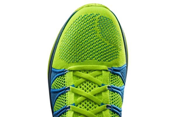 Nike Flyknit Lunar 2 Volt Blue (2)