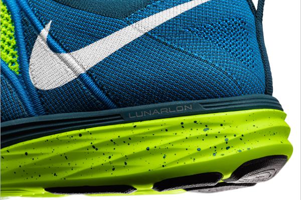 Nike Flyknit Lunar 2 Volt Blue (4)