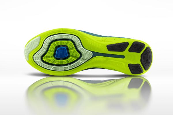 Nike Flyknit Lunar 2 Volt Blue (5)