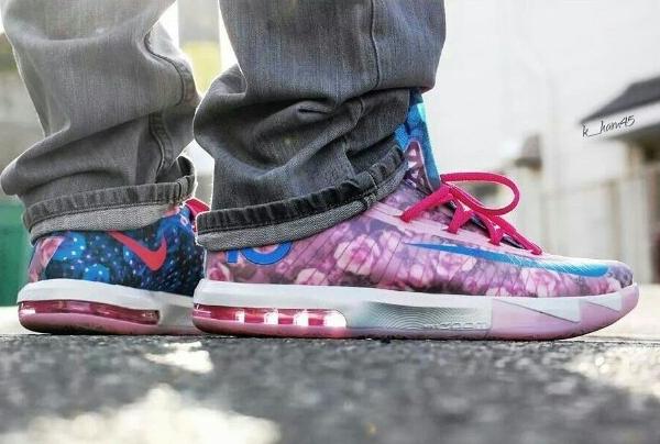 Nike KD 6 Aunt Pearl