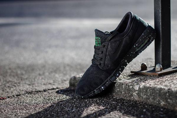 Nike SB Janoski Max Black Pine Green (1)