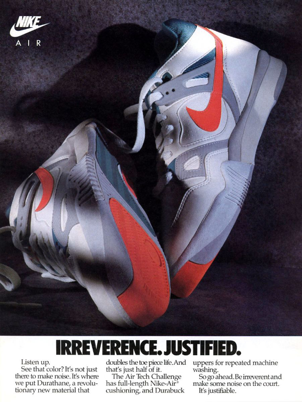 Publicite Nike Air Tech Challenge 2-13