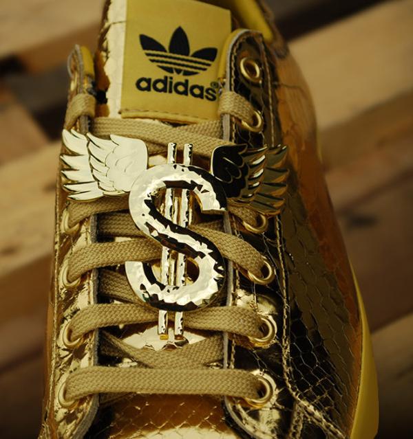Adidas Originals Jeremy Scott Rod Laver Metallic Gold (4)