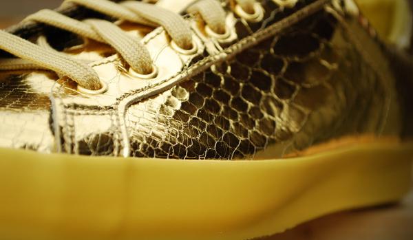 Adidas Originals Jeremy Scott Rod Laver Metallic Gold (5)