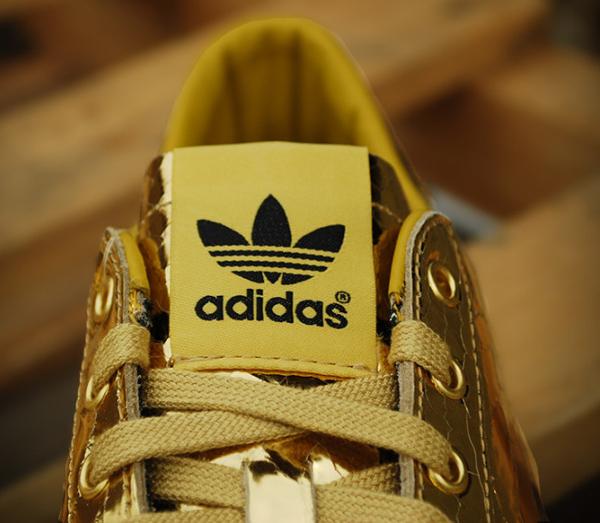 Adidas Originals Jeremy Scott Rod Laver Metallic Gold (6)