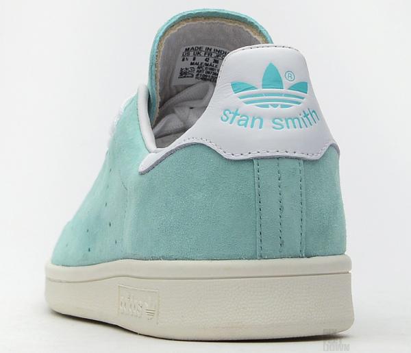 Adidas Stan Smith Suede Mint (3)