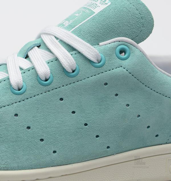 Adidas Stan Smith Suede Mint (4)