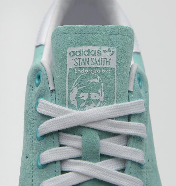 Adidas Stan Smith Suede Mint (5)