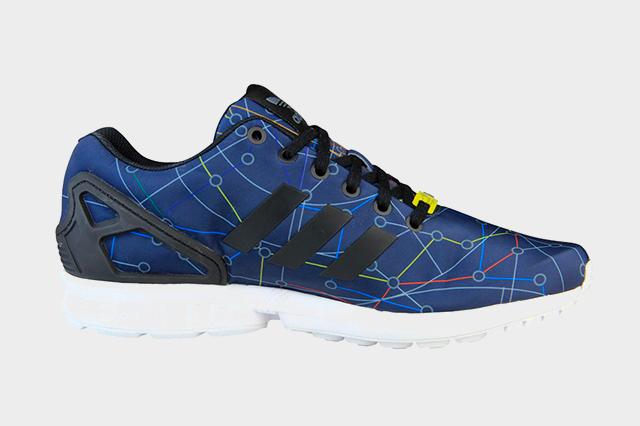 undefeated x later brand new 5 Adidas ZX Flux en exclusivité chez Foot Locker