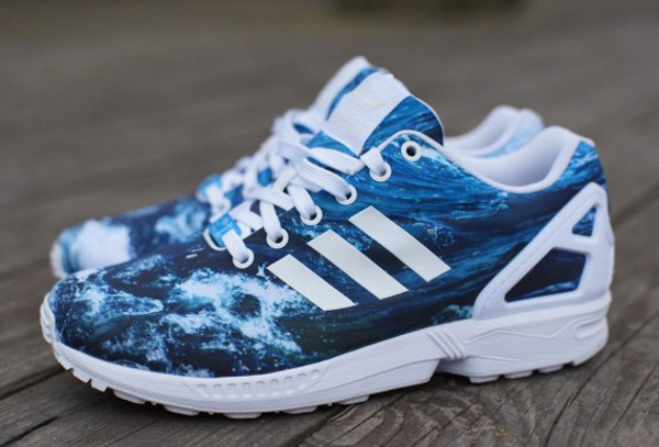 Adidas ZX Flux Photo Print Ocean (1)