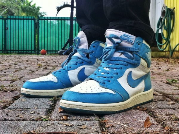 Air Jordan 1 Carolina Blue 1985 - Jrovira91