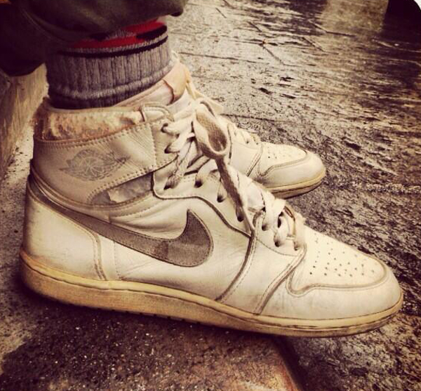 Air Jordan 1 High 1985 White Silver - Ilcardinalelove