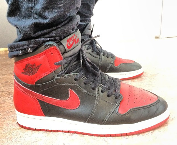 Air Jordan 1 High Bred 1994 - Dckleppe