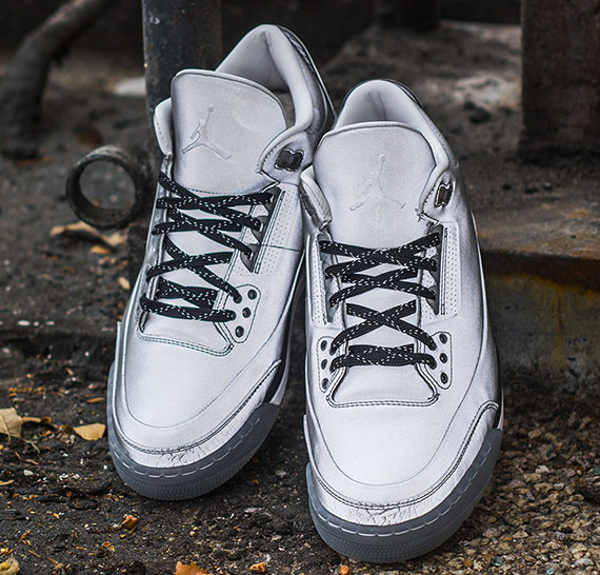Air Jordan 3 5Lab3 Metallic Silver