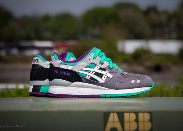 Asics Gel Lyte 3 Grey White Mint (2)
