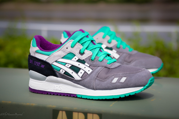 Asics Gel Lyte 3 Grey White Mint (3)