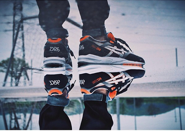 Asics Gel Saga Orange Blaze - Brooro