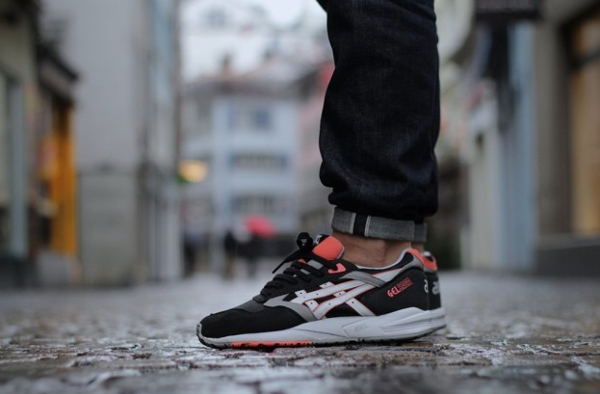 Asics Gel Saga Orange Blaze - Saintcity