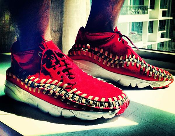 Nike Air Footscape Chukka Red Reef - Danzholandez