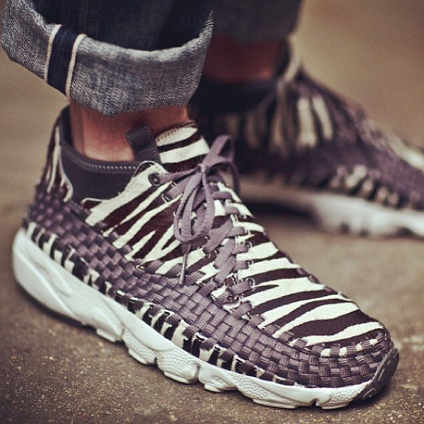 Nike Air Footscape Chukka Zebra - Kickskidd