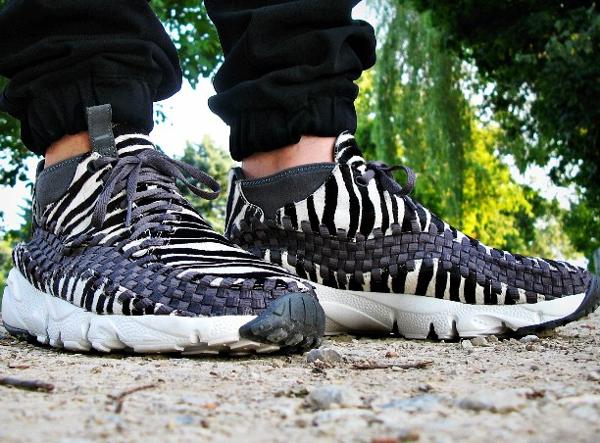 Nike Air Footscape Chukka Zebra - Nylonmarkus