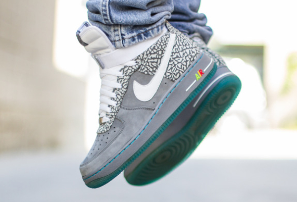 Nike Air Force 1 High ID Cement Mag MC Fly (3)