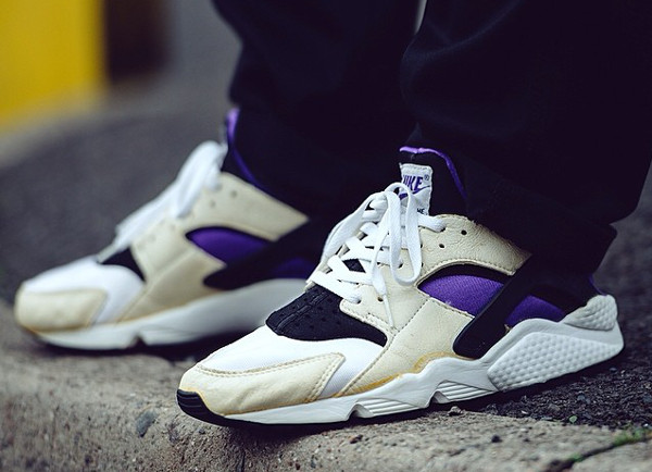 Nike Air Huarache White Purple - Gooey_Wooey